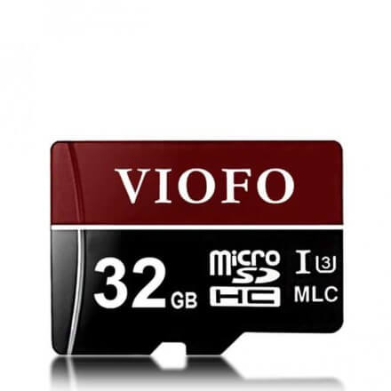 MicroSD карта памет VIOFO за видеорегистратор 32GB/64GB